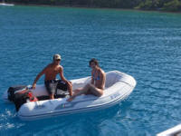 Explore in one of our Inflatable Rafts